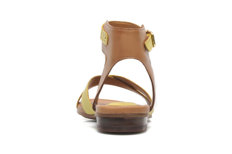 Sandali e scarpe aperte Clarks Viveca Zeal Giallo immagine destra