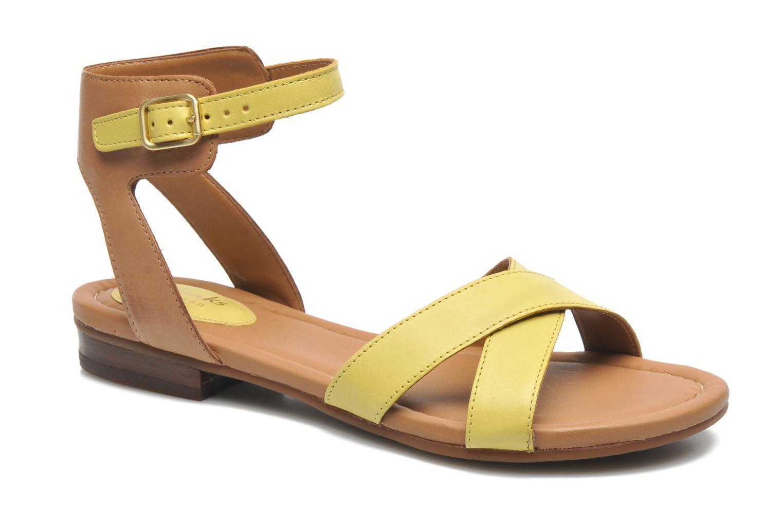 Sandali e scarpe aperte Clarks Viveca Zeal Giallo vedi dettaglio/paio