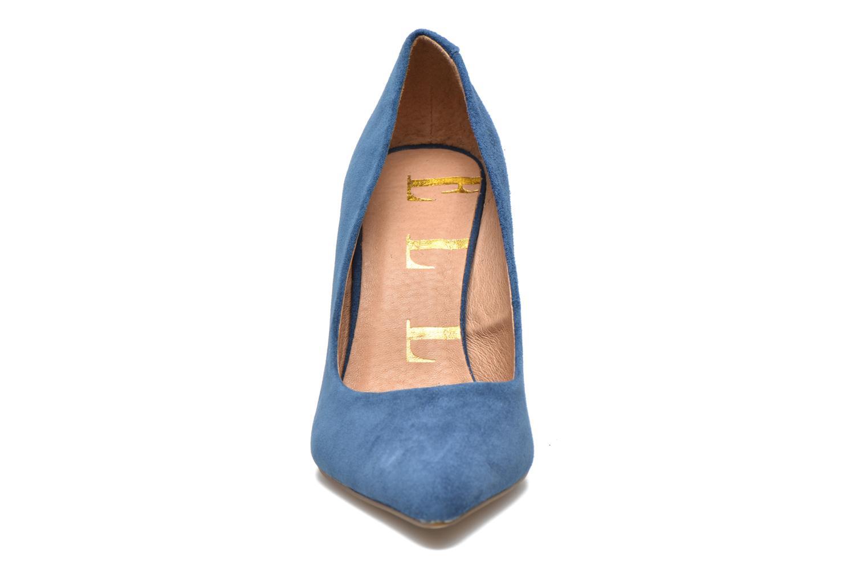 Escarpins Elle Odéon Bleu vue portées chaussures