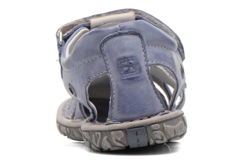 Sandales et nu-pieds Noël BOON Bleu vue droite