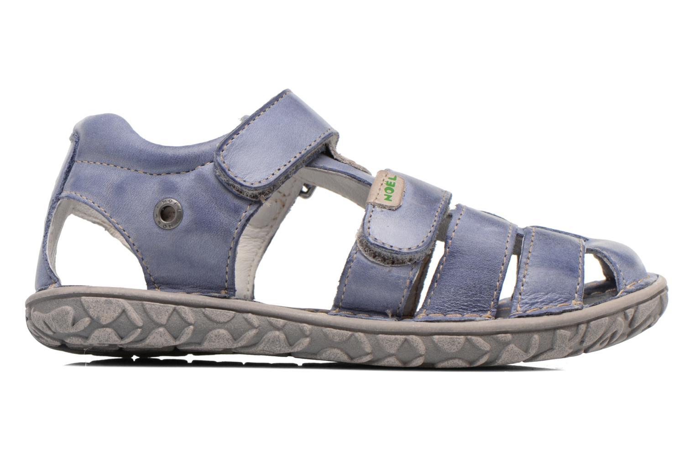 Sandales et nu-pieds Noël BOON Bleu vue derrière