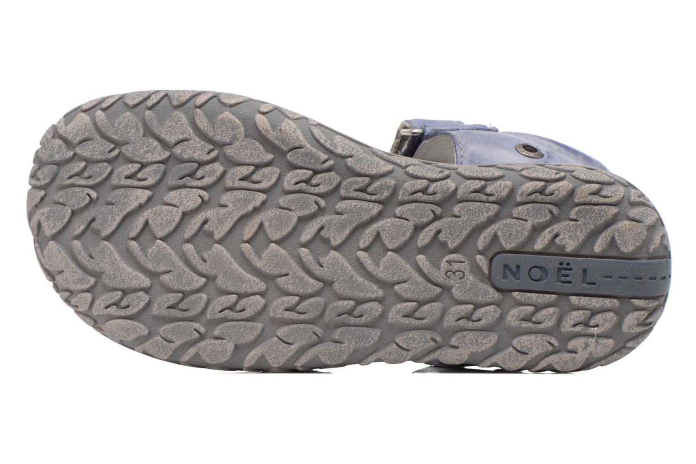 Sandales et nu-pieds Noël BOON Bleu vue haut