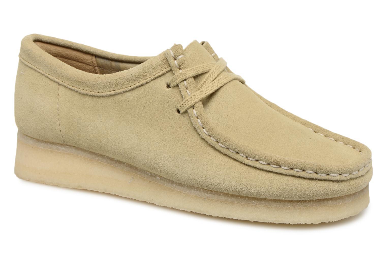 Descuento por tiempo limitado Clarks Originals Wallabee W (Beige) - Zapatos con cordones en Más cómodo