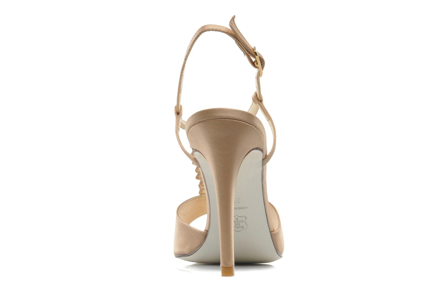 Sandals Georgia Rose Rumimy Bronze and Gold view from the right