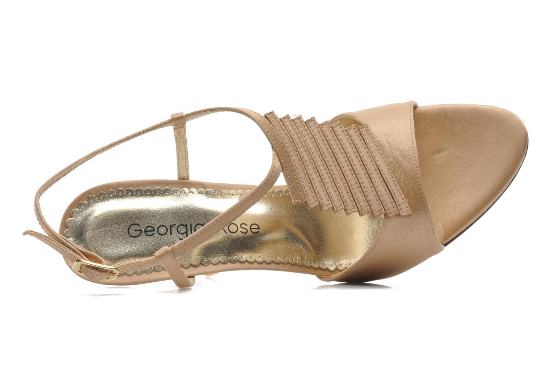 Sandali e scarpe aperte Georgia Rose Rumimy Oro e bronzo immagine sinistra