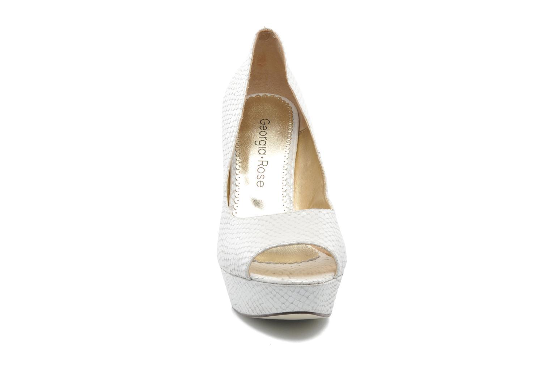 High heels Georgia Rose Ruliebdich White model view