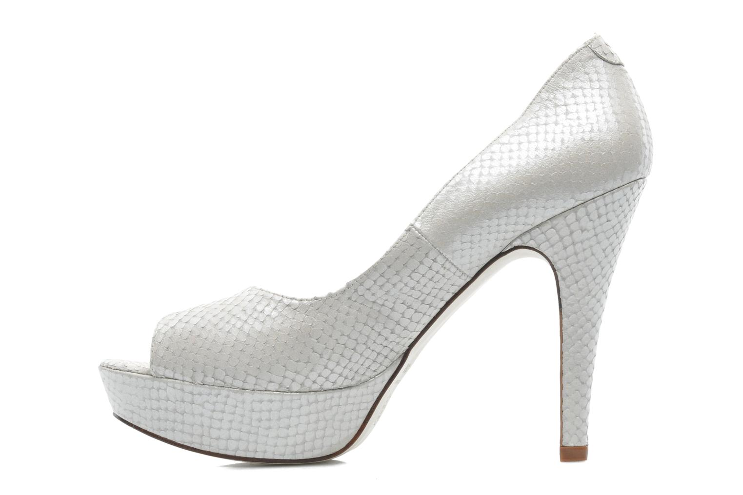 High heels Georgia Rose Ruliebdich White front view