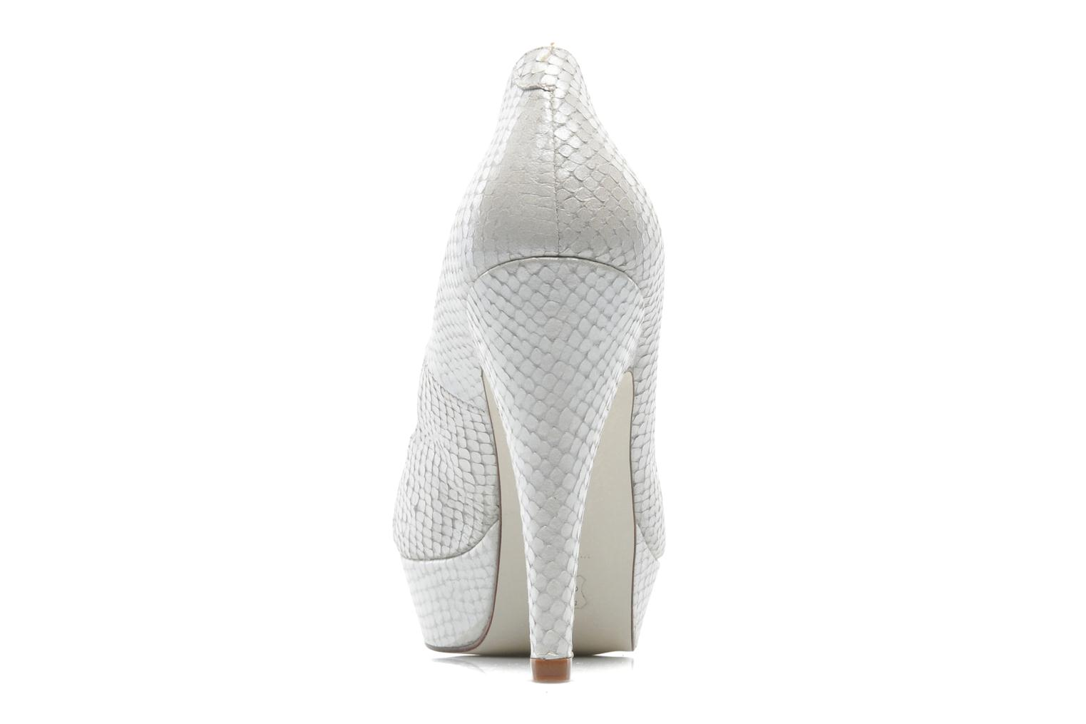 High heels Georgia Rose Ruliebdich White view from the right