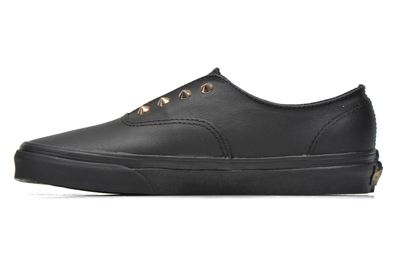 Sneakers Vans Authentic Gore W Zwart voorkant