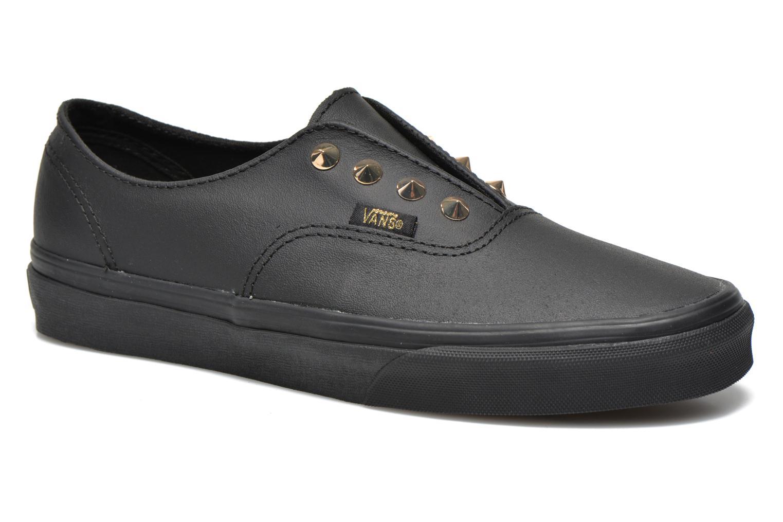 Sneakers Vans Authentic Gore W Zwart detail