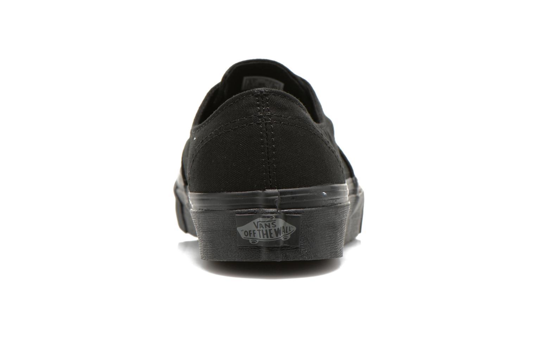 Sneakers Vans Authentic Gore W Zwart rechts