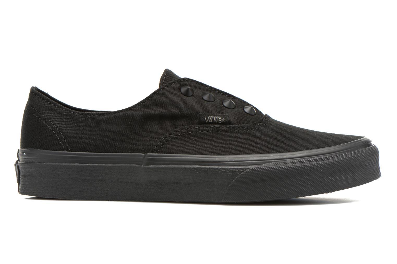 Sneakers Vans Authentic Gore W Zwart achterkant