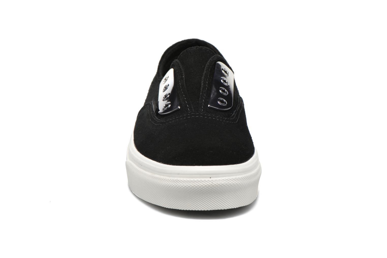 Baskets Vans Authentic Gore W Noir vue portées chaussures