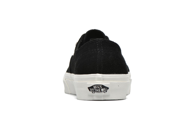 Baskets Vans Authentic Gore W Noir vue droite