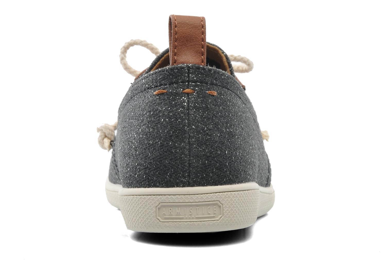 Baskets Armistice Stone One shine W Noir vue droite