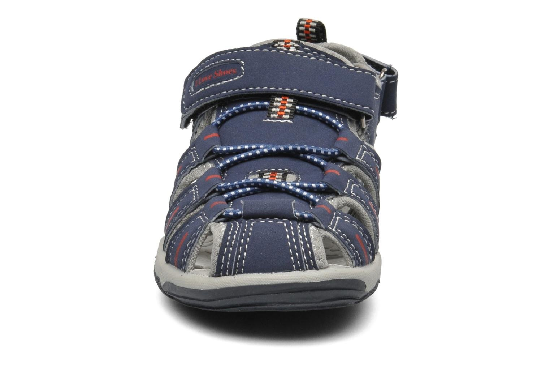 Sandalen I Love Shoes Oliv blau schuhe getragen