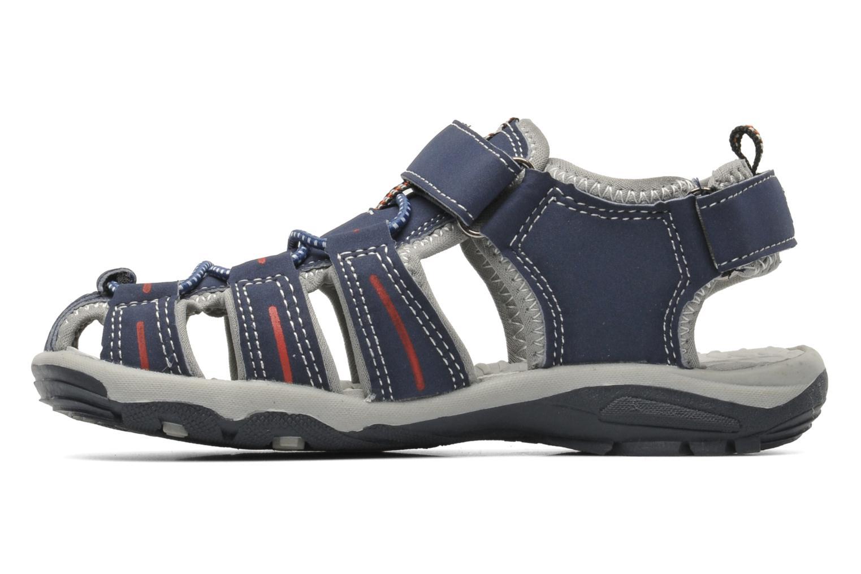 Sandalen I Love Shoes Oliv blau ansicht von vorne