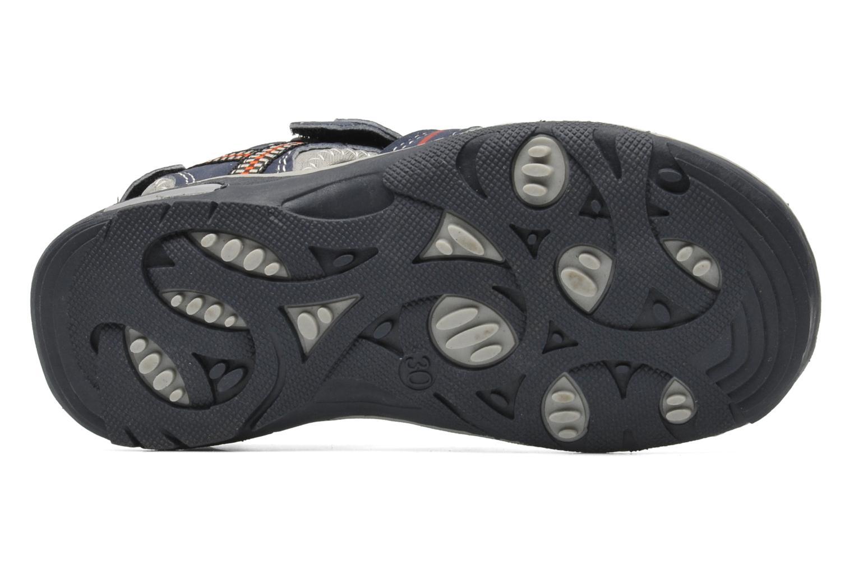 Sandalen I Love Shoes Oliv blau ansicht von oben