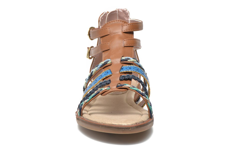 Sandalias I Love Shoes Tina Marrón vista del modelo