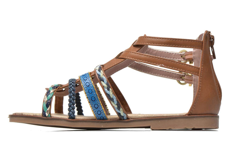 Sandalen I Love Shoes Tina braun ansicht von vorne