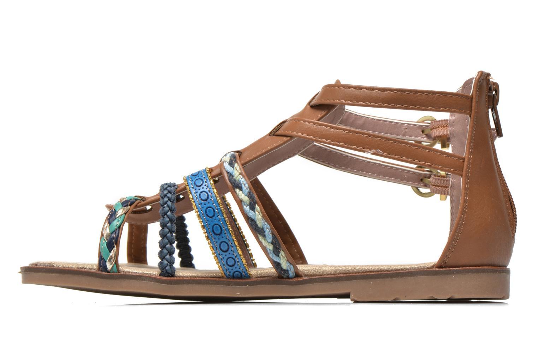Sandalias I Love Shoes Tina Marrón vista de frente