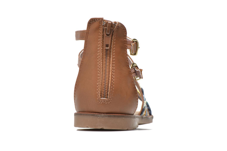Sandalen I Love Shoes Tina braun ansicht von rechts