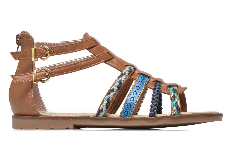Sandalen I Love Shoes Tina braun ansicht von hinten