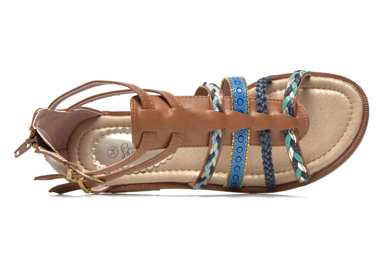 Sandalen I Love Shoes Tina braun ansicht von links