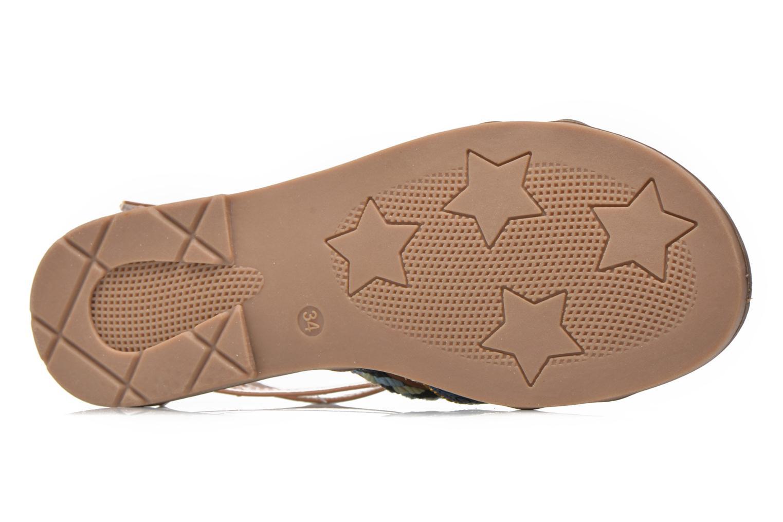 Sandalen I Love Shoes Tina braun ansicht von oben