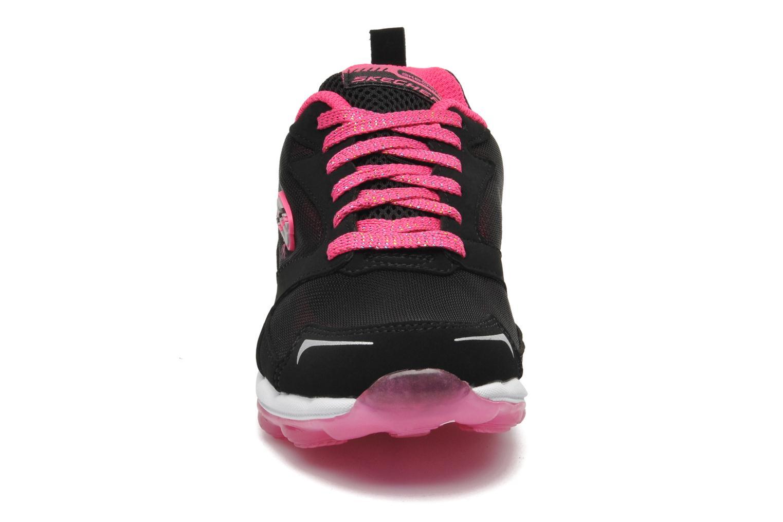 Sneaker Skechers Skech Air Bizzy Bounce schwarz schuhe getragen