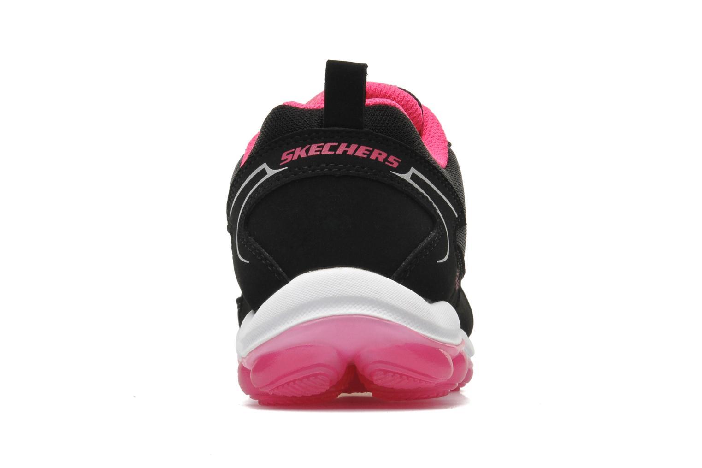 Sneaker Skechers Skech Air Bizzy Bounce schwarz ansicht von rechts