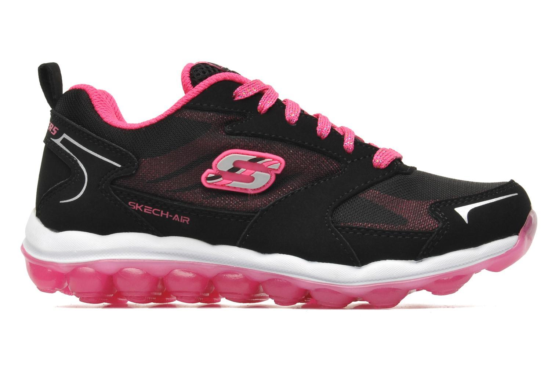 Sneaker Skechers Skech Air Bizzy Bounce schwarz ansicht von hinten