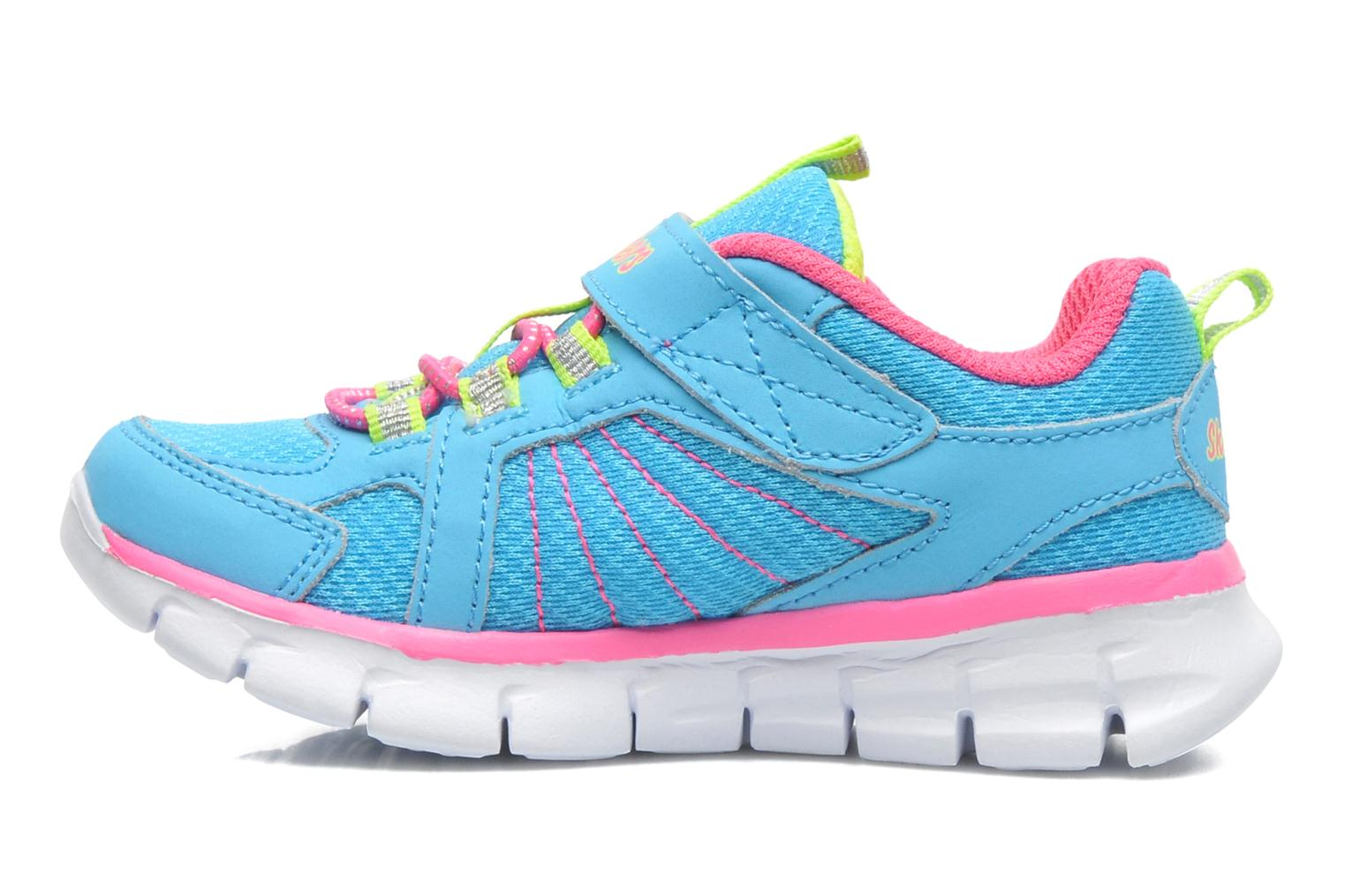 Trainers Skechers Synergy Lovespun Blue front view