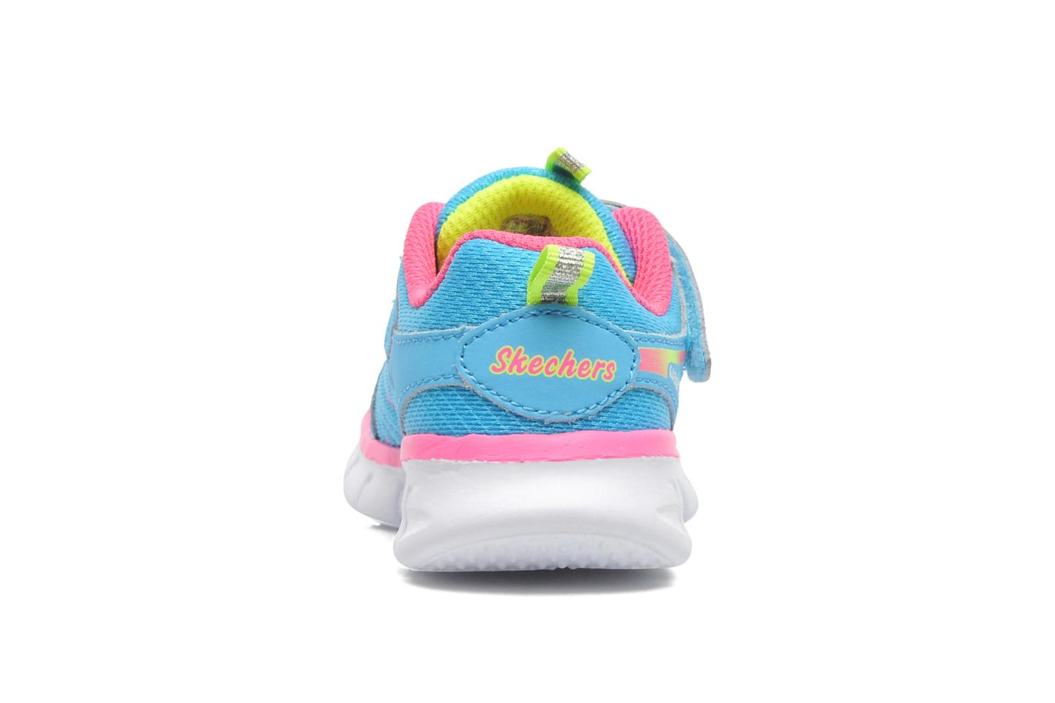 Trainers Skechers Synergy Lovespun Blue view from the right
