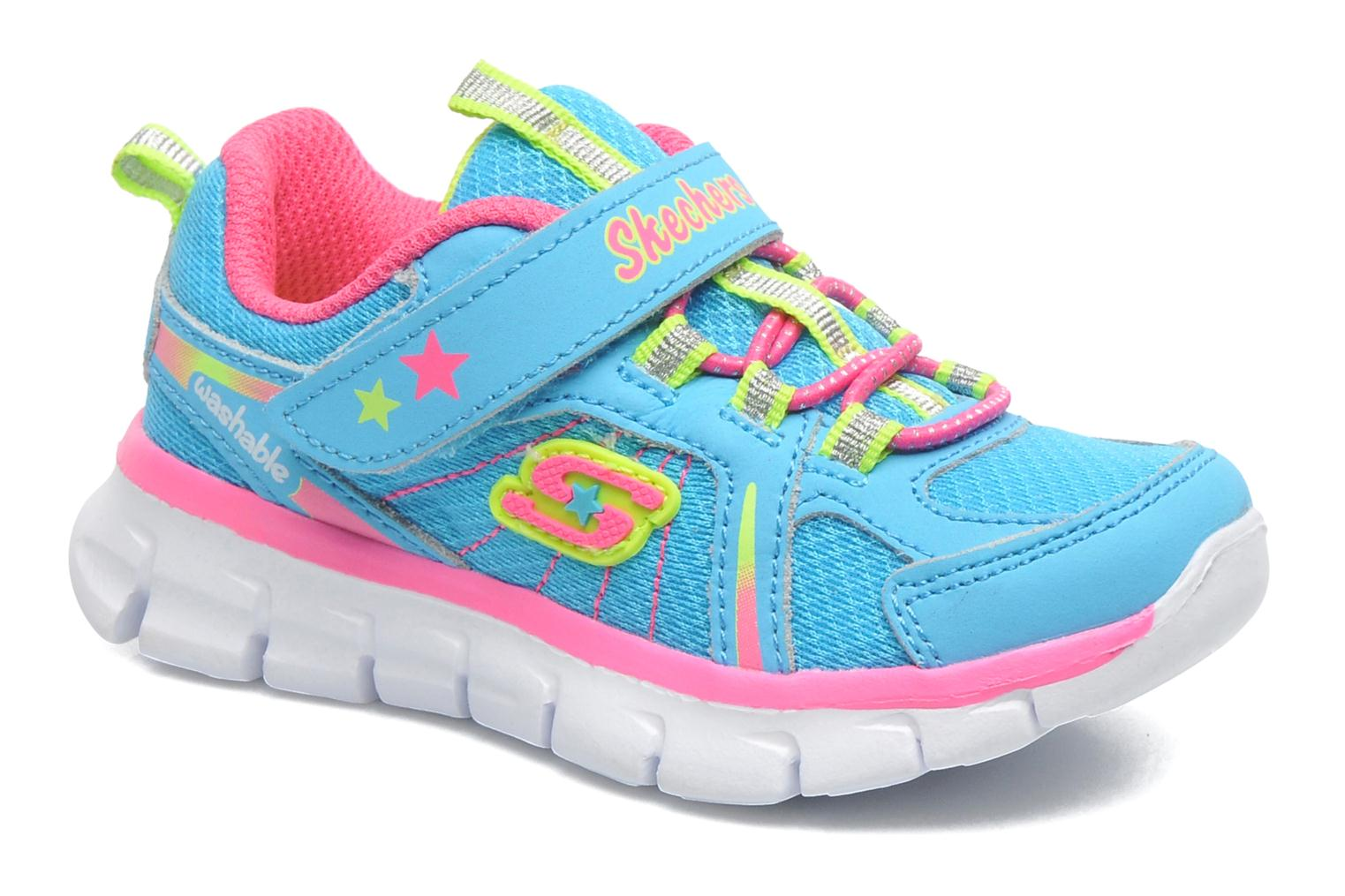 Sneakers Skechers Synergy Lovespun Blauw detail