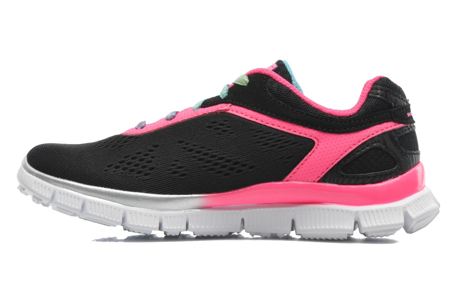 Trainers Skechers Skech Appeal Whimzies Black front view