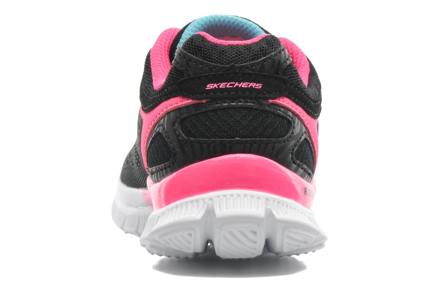 Trainers Skechers Skech Appeal Whimzies Black view from the right