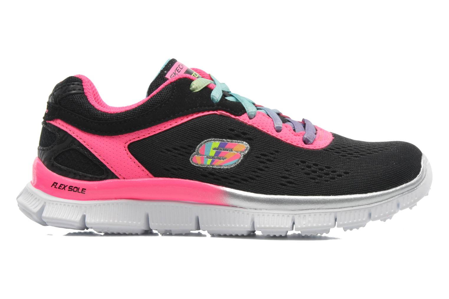 Trainers Skechers Skech Appeal Whimzies Black back view