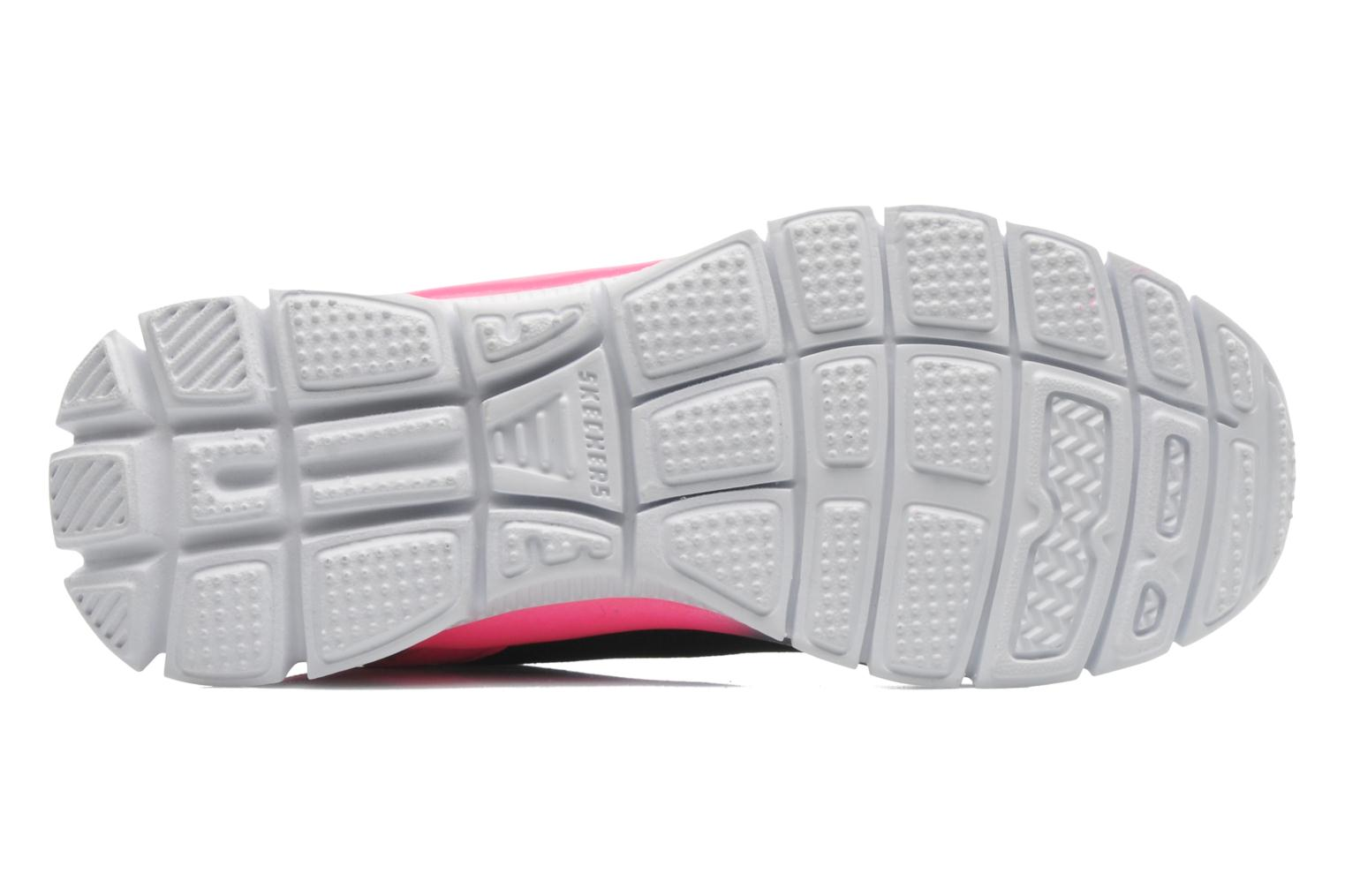 Trainers Skechers Skech Appeal Whimzies Black view from above