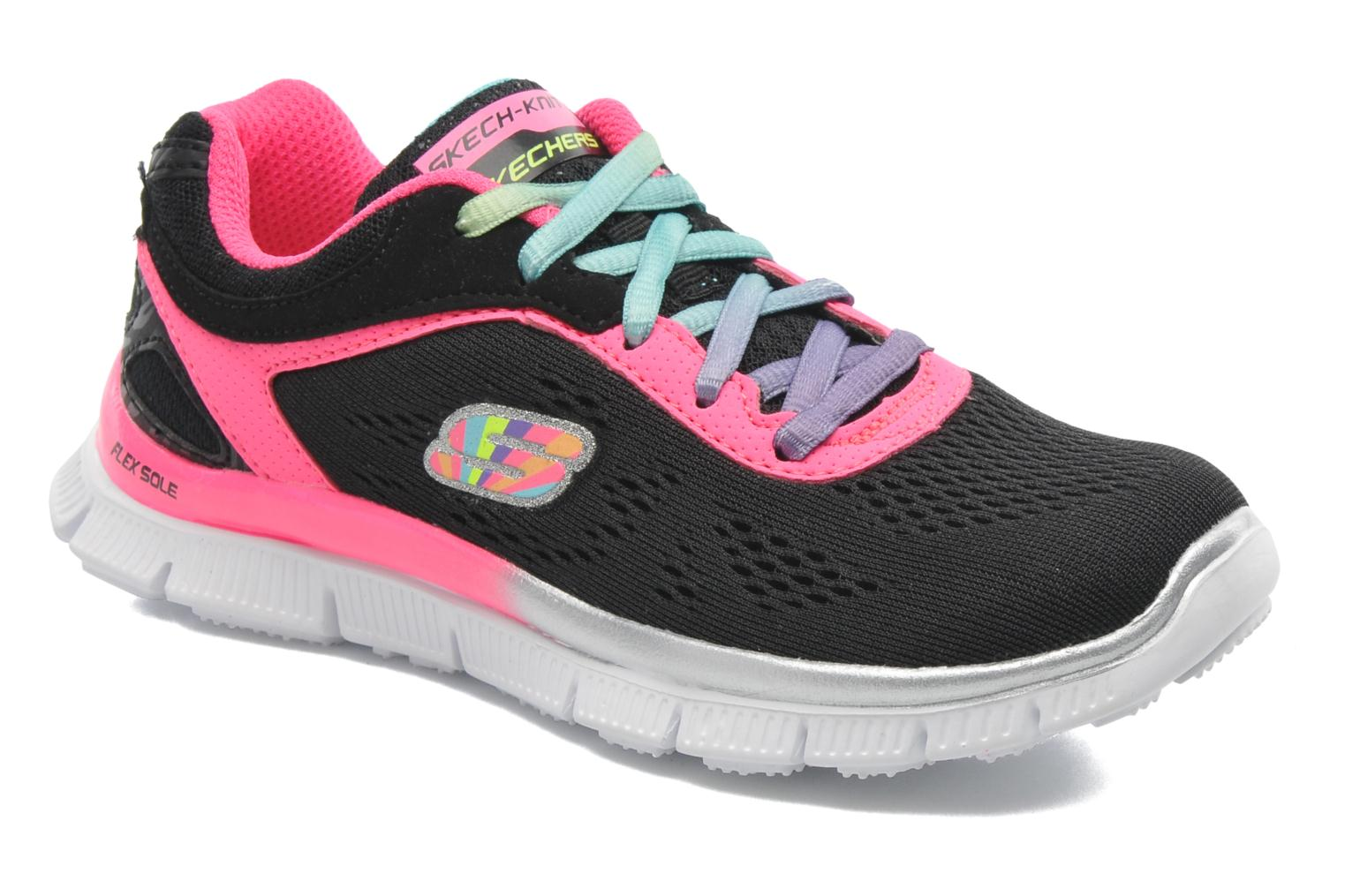Trainers Skechers Skech Appeal Whimzies Black detailed view/ Pair view