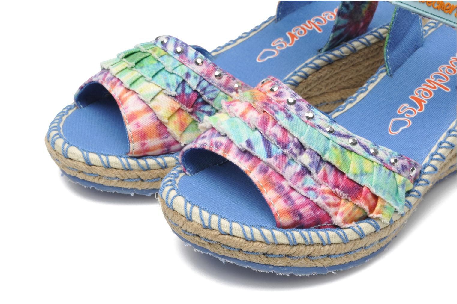 Sandals Skechers TikisRuffle Ups Multicolor 3/4 view