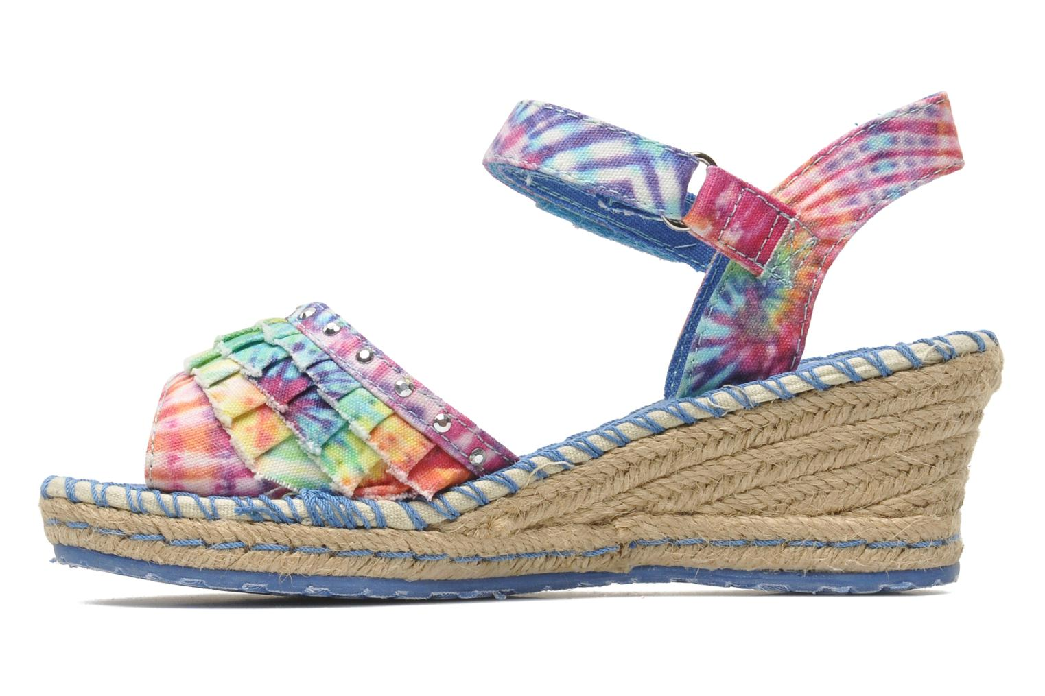 Sandals Skechers TikisRuffle Ups Multicolor front view