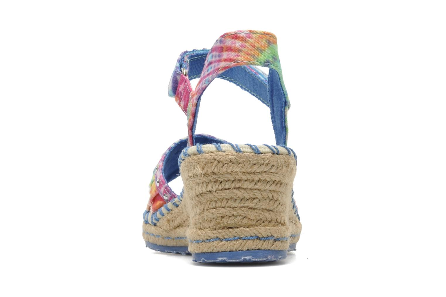 Sandals Skechers TikisRuffle Ups Multicolor view from the right
