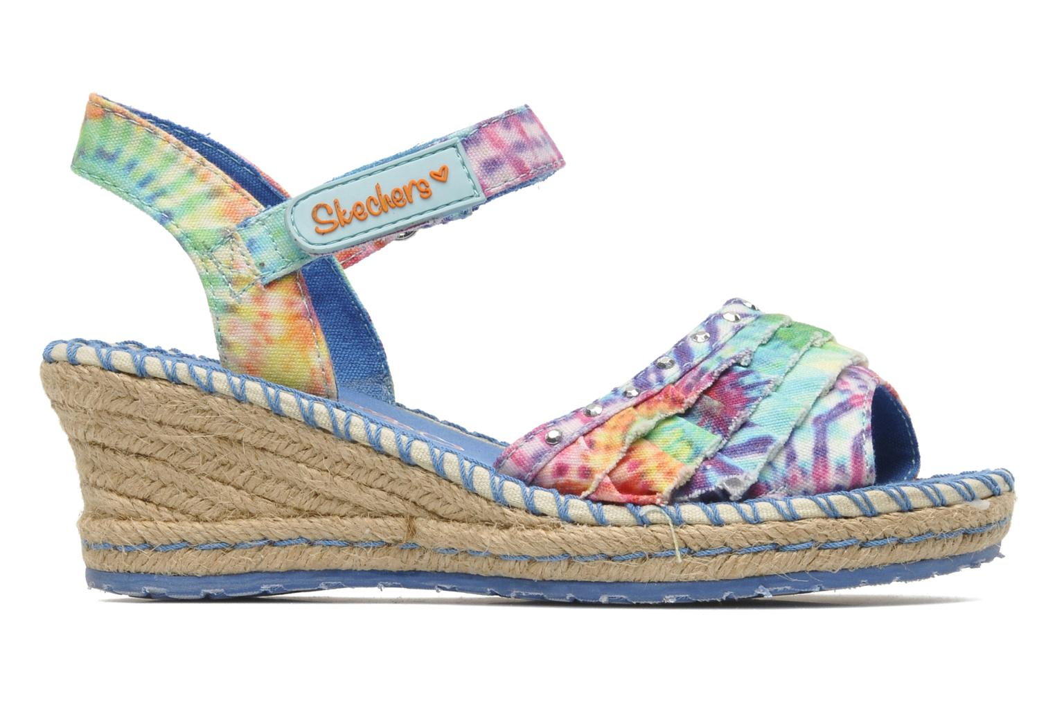 Sandals Skechers TikisRuffle Ups Multicolor back view