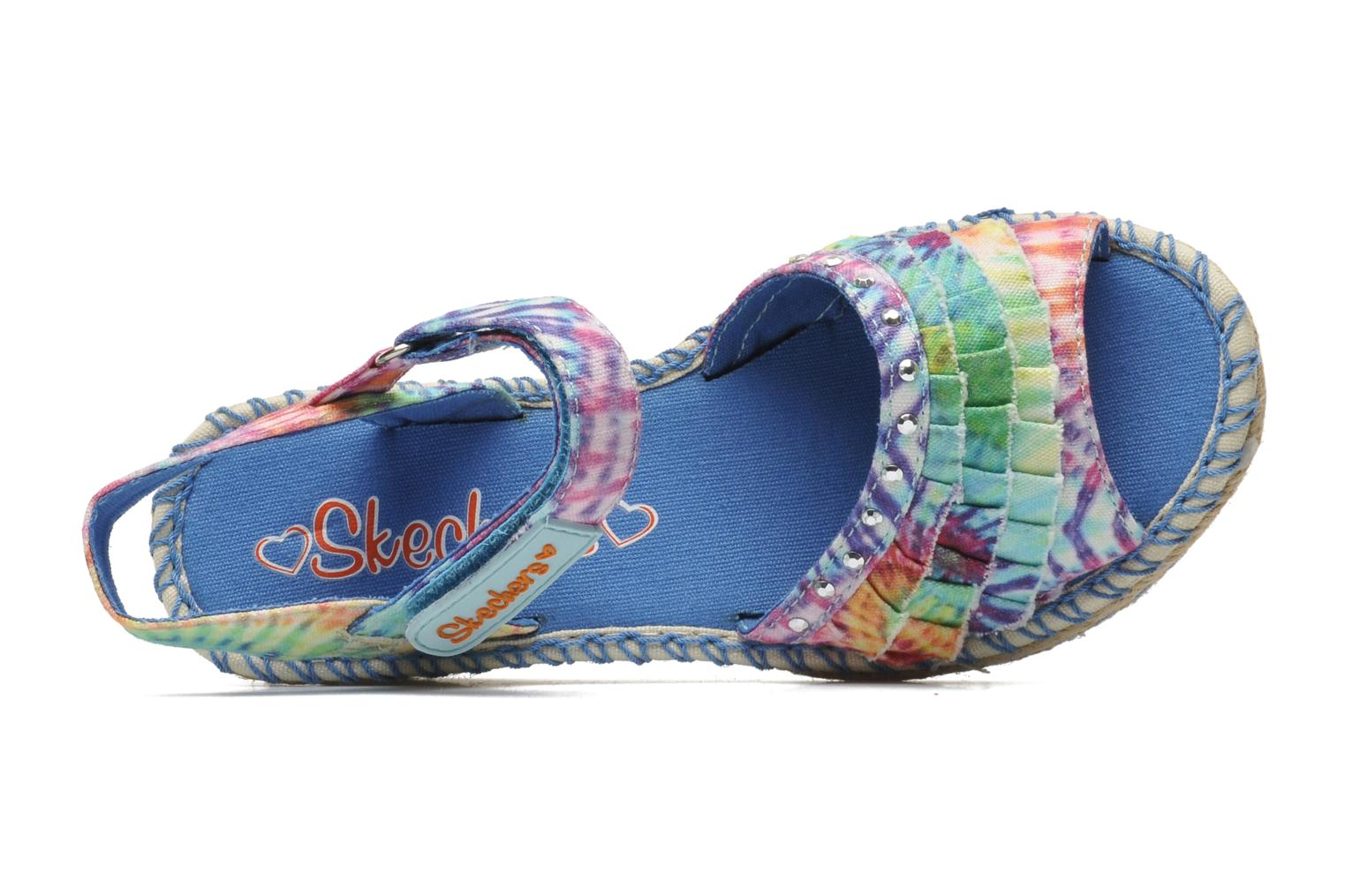 Sandals Skechers TikisRuffle Ups Multicolor view from the left