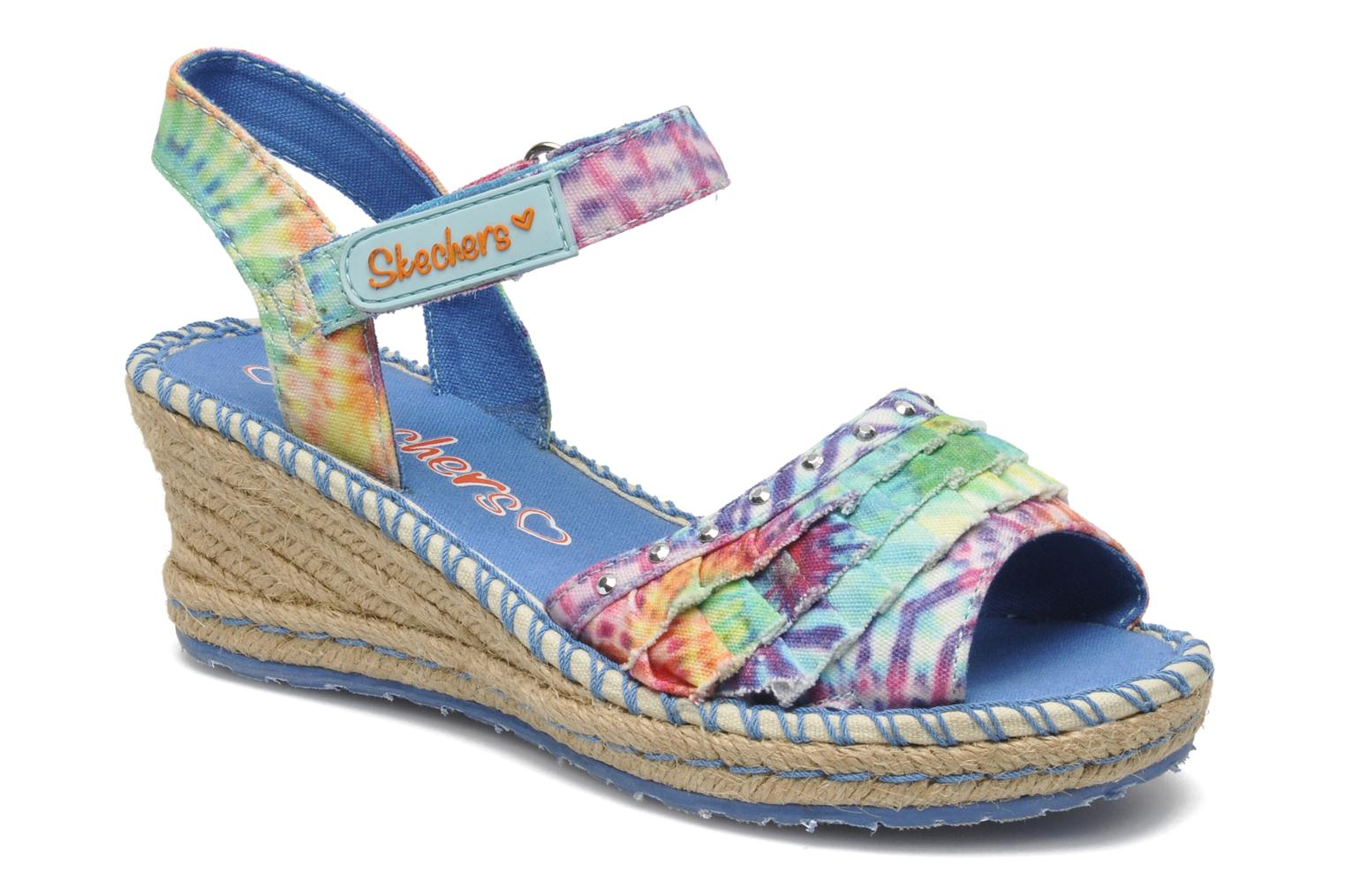 Sandals Skechers TikisRuffle Ups Multicolor detailed view/ Pair view
