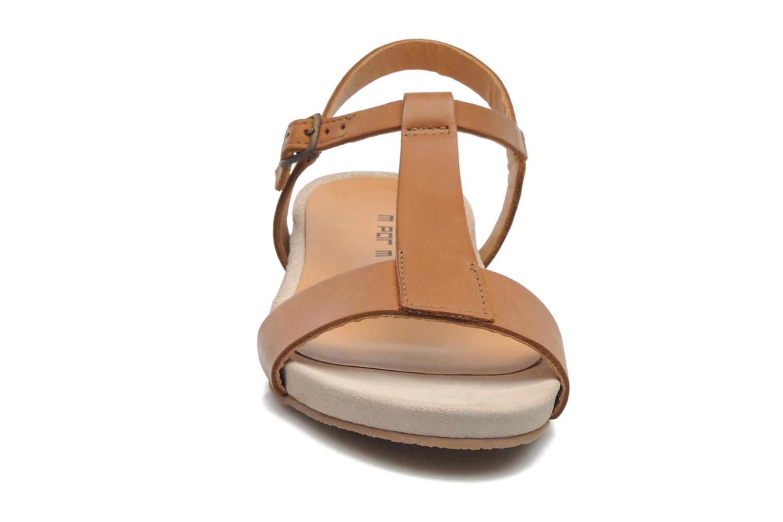 Sandales et nu-pieds M PAR M Hodal Marron vue portées chaussures