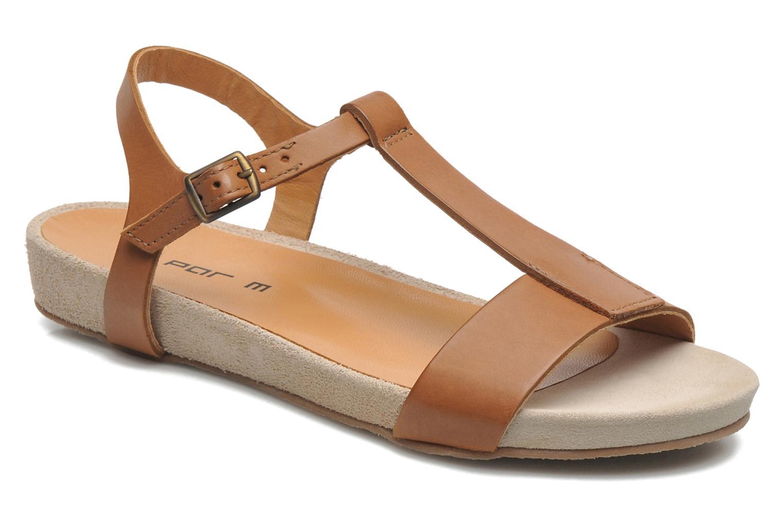 Sandales et nu-pieds M PAR M Hodal Marron vue détail/paire