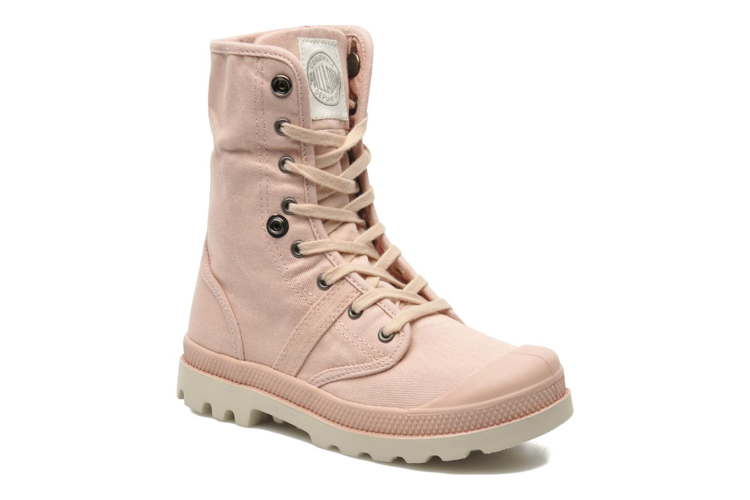 Ankle boots Palladium Baggy Twl K Pink 3/4 view