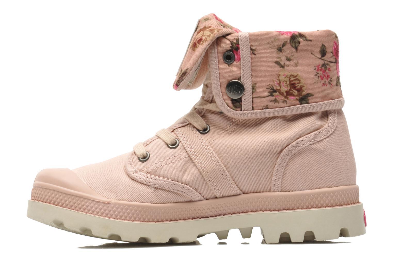 Bottines et boots Palladium Baggy Twl K Rose vue face